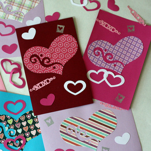 Valentine's Day DIY Card Making Party