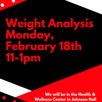 Weight Analysis 2/18/19 11-1pm | Dining Services