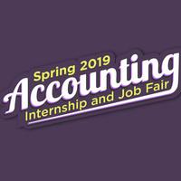 Spring 2019 Accounting Internship and Job Fair