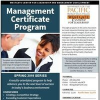 Management Certificate Program