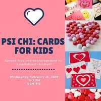 Psi Chi: Cards for Kids