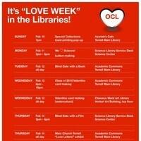 """""""Love Week"""" in the Libraries"""
