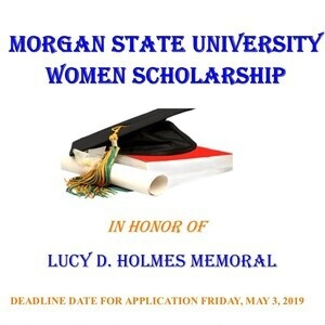 Lucy D. Holmes Memorial Scholarship