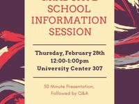Graduate School Information Session