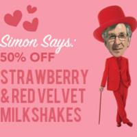 Simon Says 50% Off Milkshakes at Hawk's Nest | Dining Services
