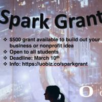 Application Deadline: Spark Grant