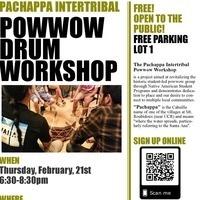 Pow Wow Drum Workshop