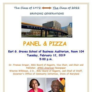 Panel & Pizza with Morgan's Regents