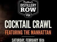 Distillery Row Manhattan Cocktail Crawl