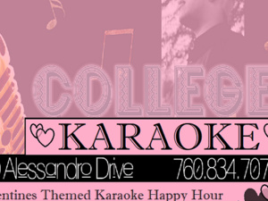 College Open Mic VALENTINES DAY HAPPY HOUR