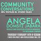 Community Conversations #7: MFA Textiles In-Studio Talks with Angela Domsitz Jabara