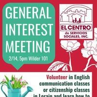 General Interest Meeting: OUI & ECVI