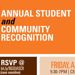 Annual Student and Community Recognition