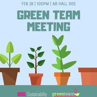 Green Team Open Meeting