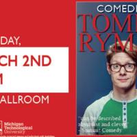 Commedian Tommy Ryman