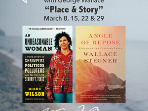 "HNY Reading and Discussion Series: ""Place and Story"" with George Wallace"