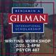 Gilman Study Abroad Scholarship Writing Workshop
