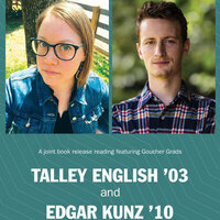 Book Release Reading for Goucher grads Talley English and Edgar Kunz