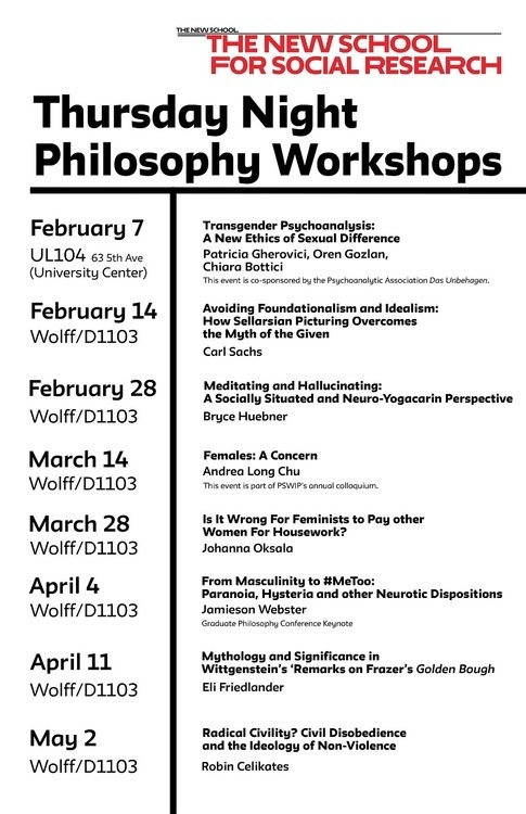 """Philosophy Workshop: Carl Sachs on """"Avoiding Foundationalism And Idealism: How Sellarsian Picturing Overcomes the Myth of the Given"""""""