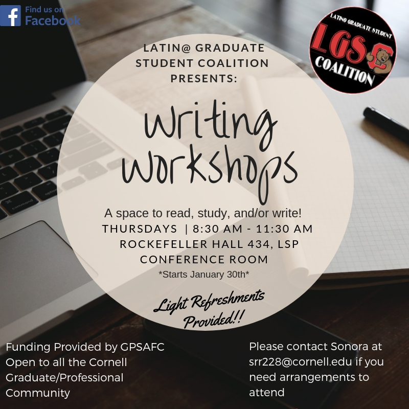 LGSC Weekly Writing Workshop