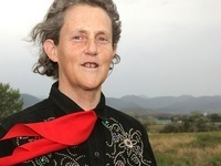 "A talk by Dr. Temple Grandin ""Animal Behavior and Well-Being"""
