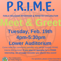 P.R.I.M.E. Meet and Greet