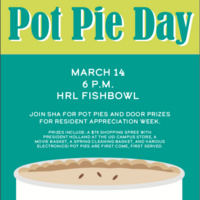 Student Housing Association's Pot Pie Day