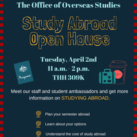 Study Abroad Open House
