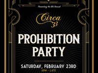 Eighth Annual Prohibition Party