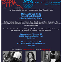 "El Paso Pro-Musica Presents ""From the Shtetl to the Concert Stage"