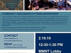 CEL/MMNT Fusion Discussion: MMNT's The Three Musketeers