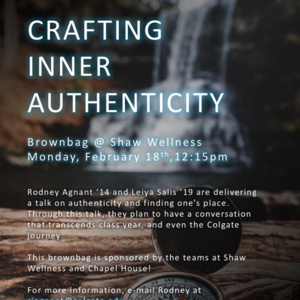 Brown Bag: Crafting Inner Authenticity