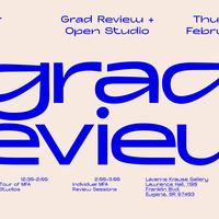 UO Art MFA Grad Review & Open Studio