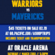 Warriors vs. Mavericks Game excursion