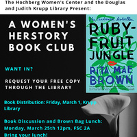 Women's HERstory Month Book Club