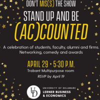 Lerner Accounting & MIS Awards Celebration