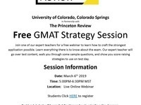 Free GMAT Strategy Session Webinar