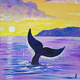 Family Room Event: Non-alcohol Paint Class: Whale Fluke