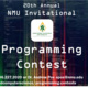 NMU Invitational Programming Contest