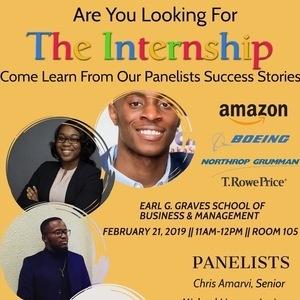 """The Internship"" Panel"