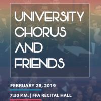 University Chorus and Friends