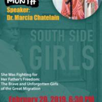 Black History Month Speaker: Dr. Marcia Chatelain