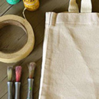 Art & Wine: Personalized Tote Bags