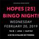HOPES[25] BINGO Night