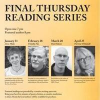 Final Thursday Reading Series - Paul Hedeen