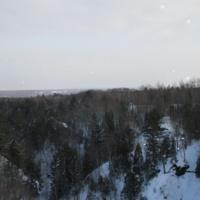 Hungarian Falls WInter Hike