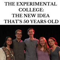 The Experimental College: The New Idea That's 50 Years Old