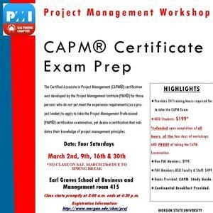 CAPM Certification Examination Preparation Workshop