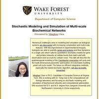 Stochastic Modeling and Simulation of Multi-scale Biochemical Networks