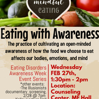 Eating with Awareness: Mindfulness Activity